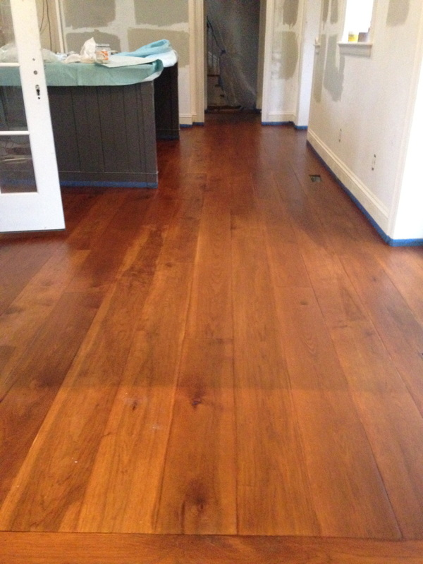 Carlisle Wide Plank Hickory Site Sanded Eco Options Hardwood